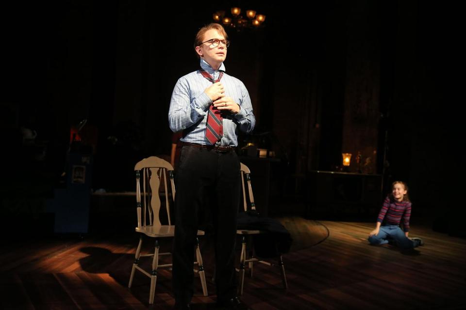 "Michael Cerveris in ""Fun Home."""